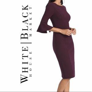 White House Black Market-  Sheath dress